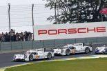 14号車ポルシェが2014年の最終戦でポルシェにとってWEC復帰後初優勝を飾った。