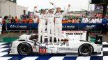 LMP1参戦わずか2戦目のニック・タンディ/アール・バンバー/ニコ・ヒュルケンベルグがポルシェにとって17回目となるル・マン優勝を達成