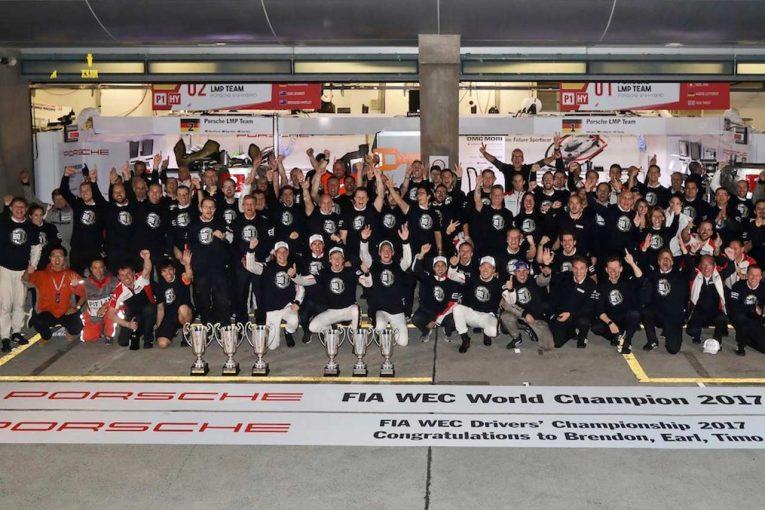 最終戦バーレーンを残し、第8戦上海でドライバーズ、マニュファクチャラーズ3連覇を達成