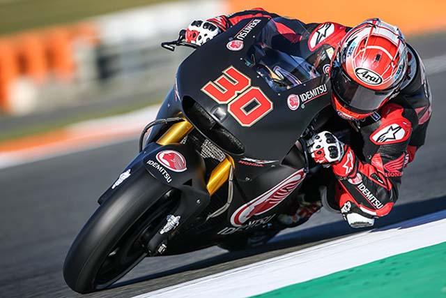 MotoGP   中上貴晶がMotoGP公式デビュー。ヤマハが新たなカウルを使用/バレンシアテスト初日