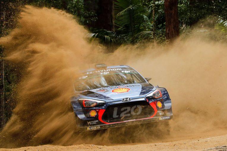 ラリー/WRC   WRCオーストラリア:最終戦のシェイクダウンはヒュンダイがトップ。トヨタのラトバラ4番手