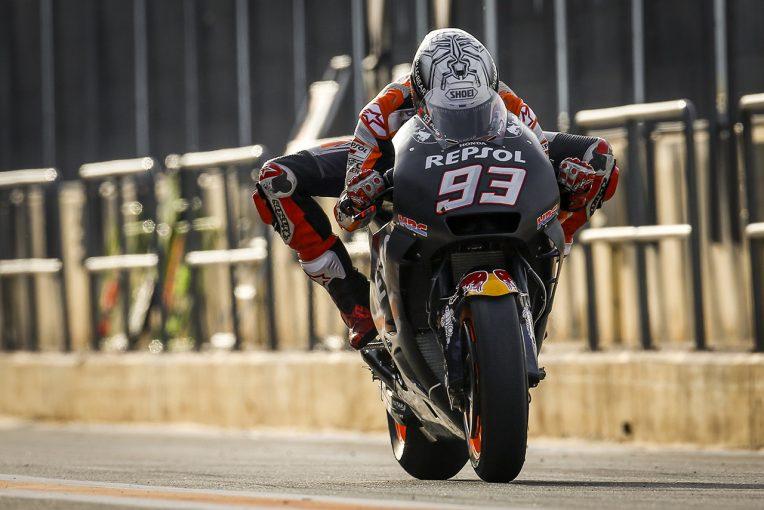 2018年シーズン最初のテストで総合トップとなったマルク・マルケス