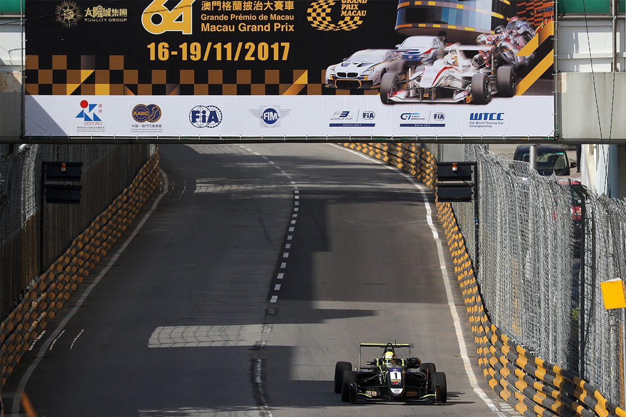 【タイム結果】第64回マカオグランプリ FIA F3ワールドカップ 予選1回目