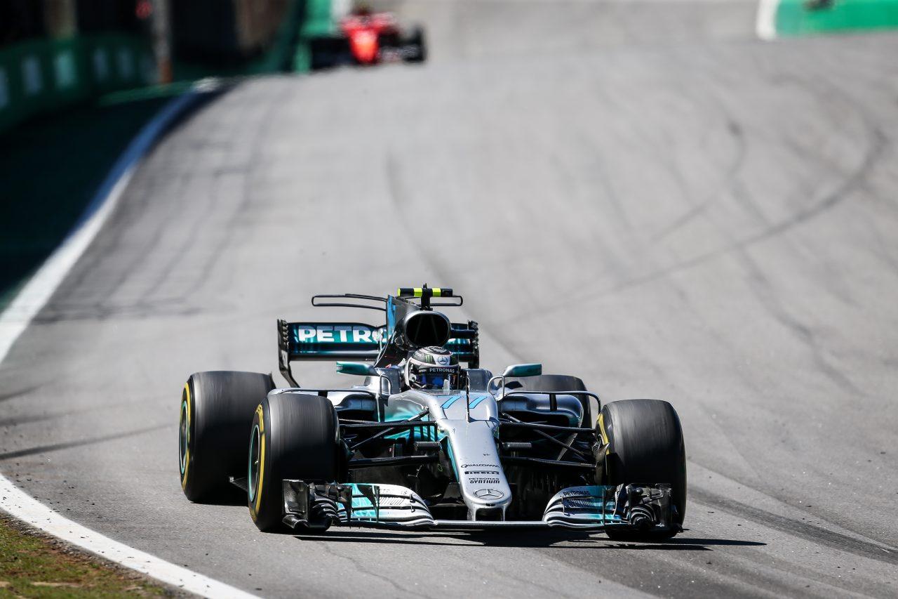 2017年F1ブラジルGPでのボッタス