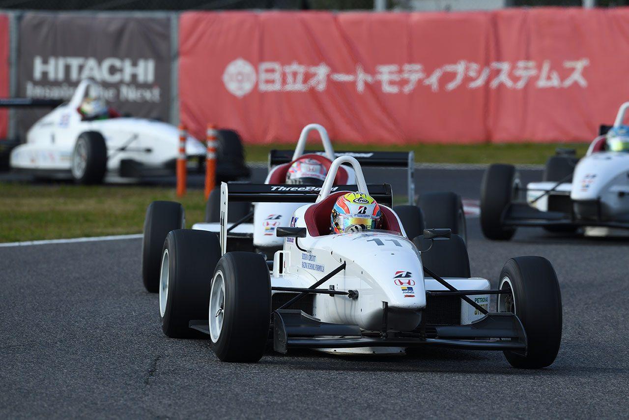 2017年度SRS-Formulaスカラシップは名取鉄平が獲得。次席の選出なし