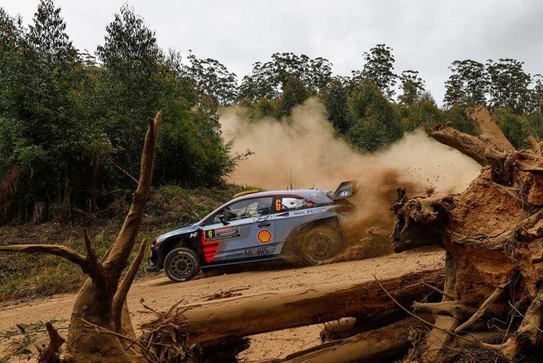 ラリー/WRC | WRCオーストラリア:前年勝者のミケルセンが20秒リード構築。ヒュンダイが初日全SS制圧