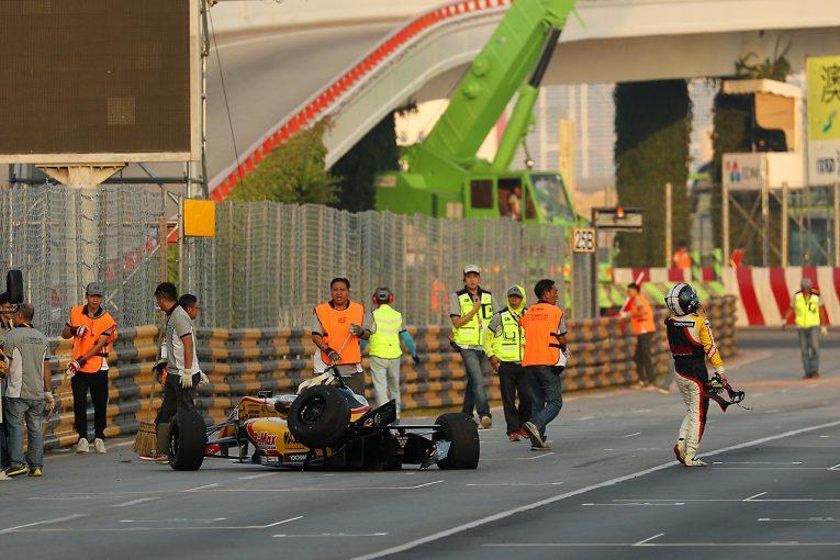 海外レース他 | 関口雄飛、攻めたが故のクラッシュに「速さがあっただけに、悔しい」