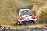ラリー/WRC | WRC:トヨタ、初日はトラブル発生も2台完走。マキネン「午後の走りはメカニックに支えられた」