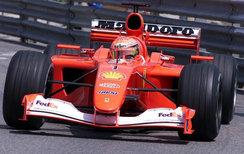 F1 | シューマッハーのフェラーリF1が8億4000万円で売却。オークションで記録的な高値に