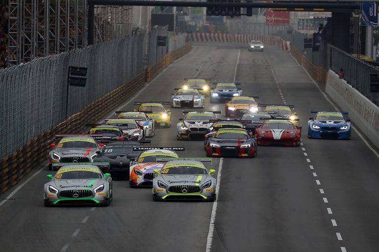 ル・マン/WEC | マカオGTワールドカップ:QFレースは12台クラッシュの大混乱。モルタラが優勝