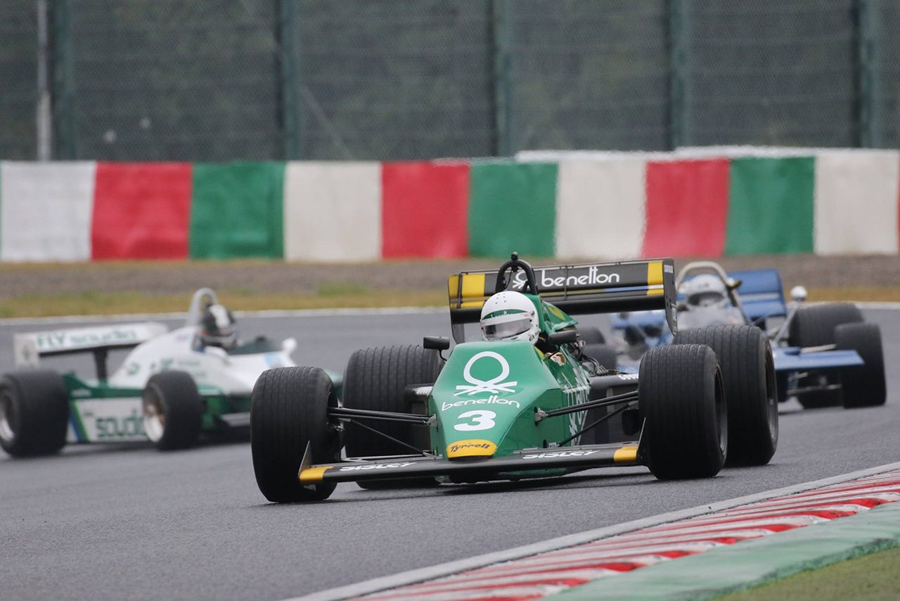 『LEGEND of Formula1 デモンストレーションレース』の様子
