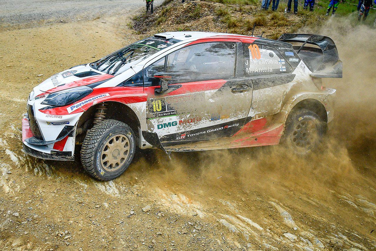 WRC:トヨタ、最終戦で3勝目なるか。マキネン「状況次第では最高の結果も不可能ではない」