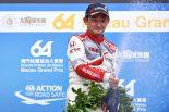 海外レース他 | 道上龍、WTCC初表彰台に喜び「一年間戦ってきて、こうして結果が出て良かった」