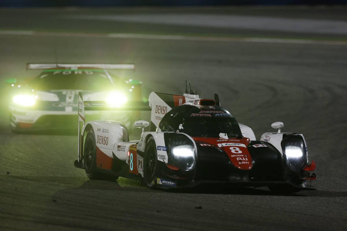 【正式発表】ル・マン出場目指すアロンソ、WECテストでトヨタLMP1カーをドライブ