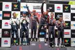 WRC第13戦オーストラリア 表彰台