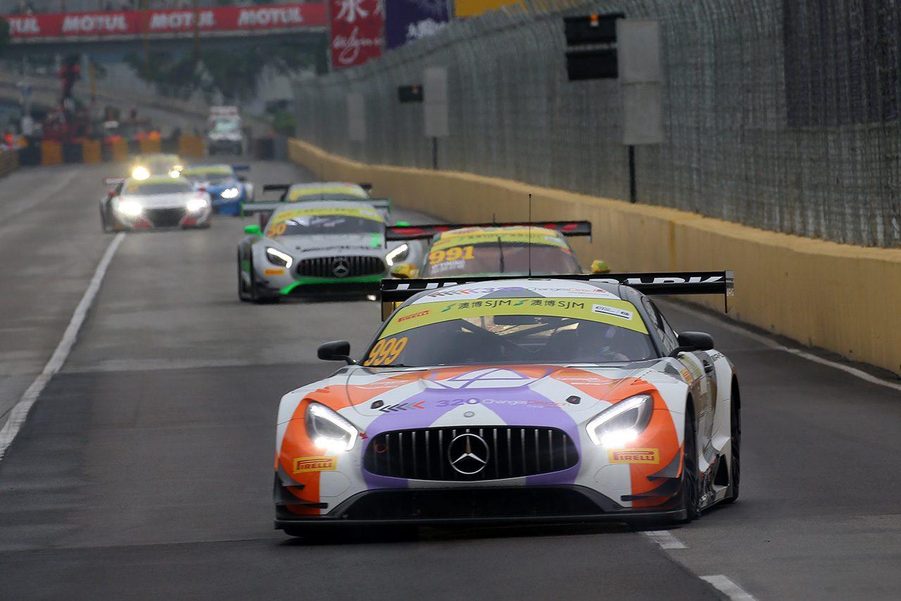 マカオFIA GTワールドカップ:モルタラのメルセデスが逃げ切り優勝を飾る