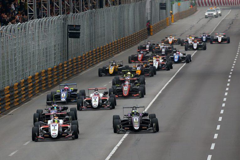海外レース他 | 第65回マカオグランプリ:FIA F3ワールドカップのエントリーリスト発表。日本人は現段階で7人
