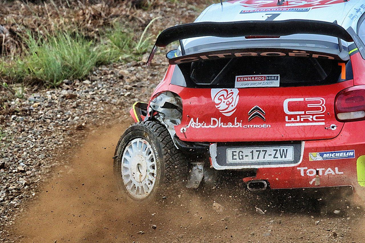 最終SSでリタイアしたラトバラ「すべての経験で学ぶことがある」/WRC第13戦オーストラリア デイ3コメント