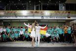 2016年F1アブダビGPで自身初のF1シリーズチャンピオンとなったニコ・ロズベルグ