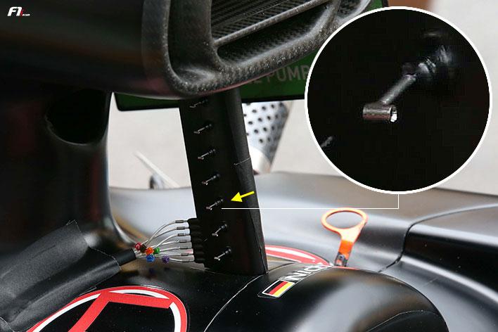 2017年F1ブラジルGP ルノーのエアロテスト