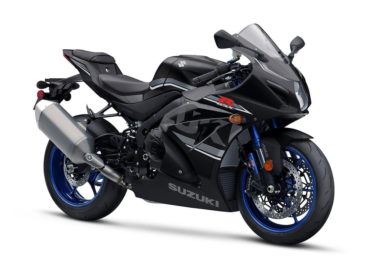スズキUKがGSX-R1000Rの2018年カラーを発表。ホワイト、ブラックの2色展開