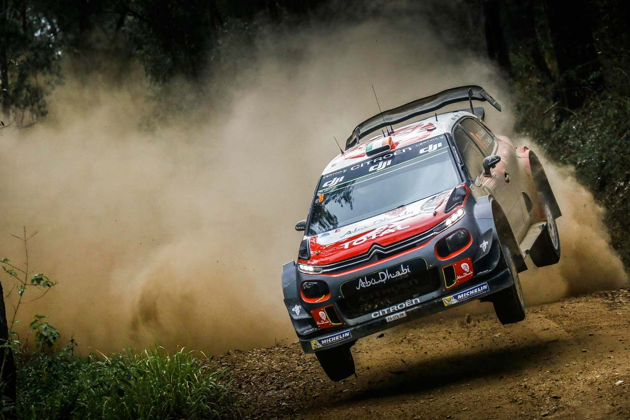 WRC:シトロエン 2017年第13戦オーストラリア ラリーレポート