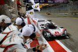 ラストレースを2位でフィニッシュした2号車ポルシェ919ハイブリッド