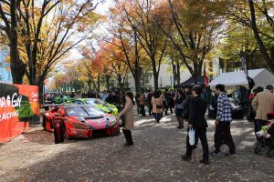 SHIBUYA SPORTS CAR FES 2017の様子
