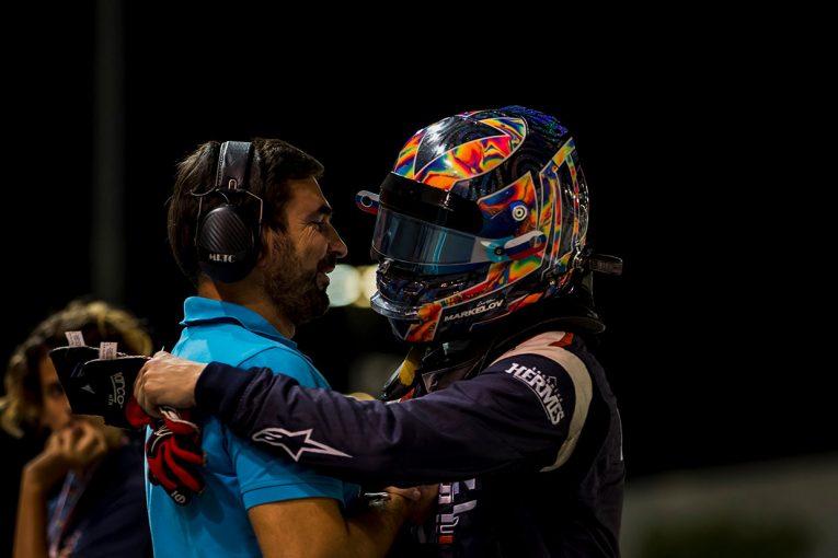海外レース他   【順位結果】FIA F2第11戦アブダビ予選