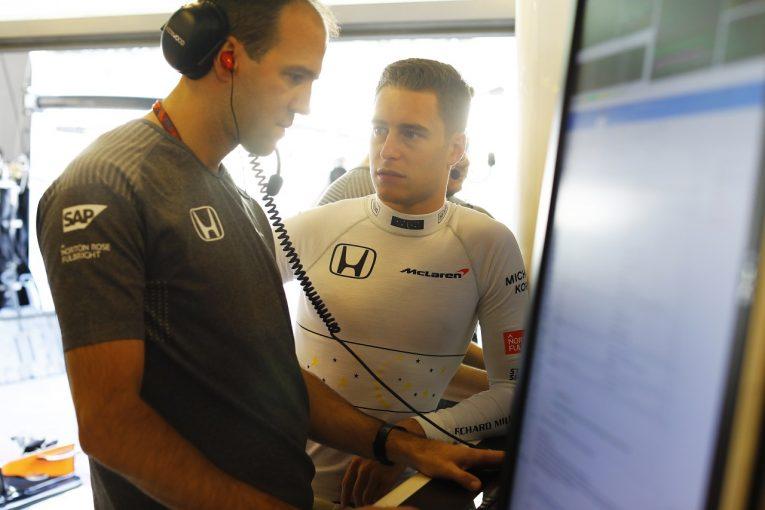 F1 | バンドーン「マシンの感触はとてもいい。予選をうまく走ってライバルに勝ちたい」マクラーレン・ホンダF1