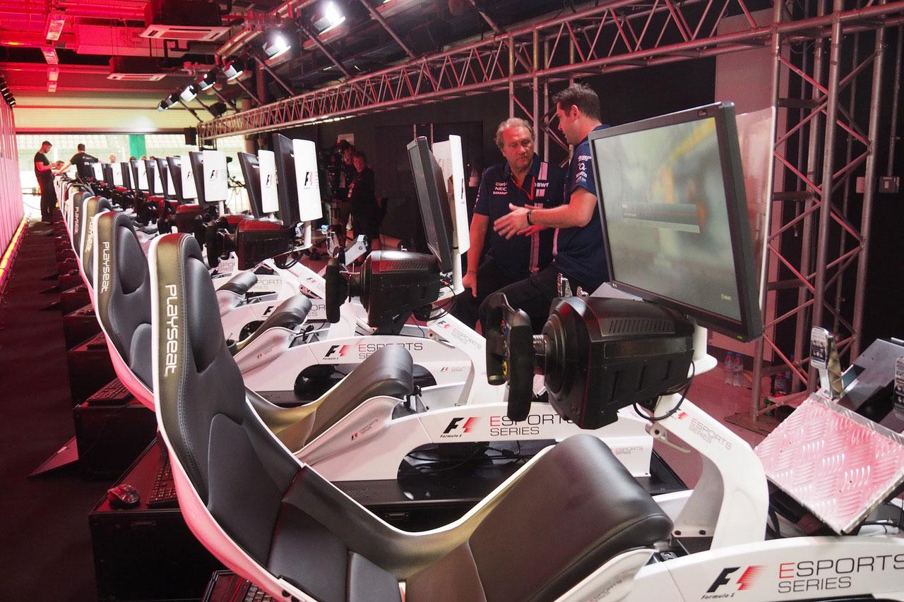 モタスポブログ | バーチャルレースにFインディア副代表も興味津々/F1アブダビGP 現地情報1回目