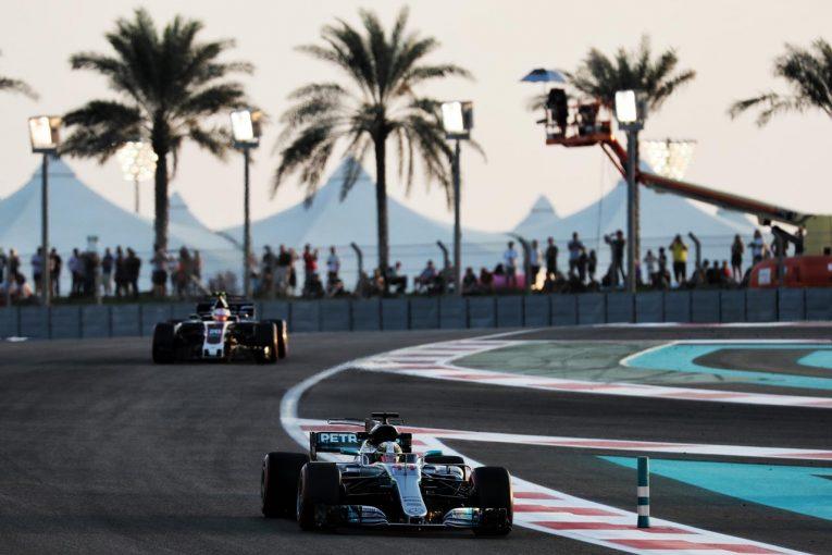 F1 | ハミルトンがトップタイム/【タイム結果】第20戦アブダビGPフリー走行3回目