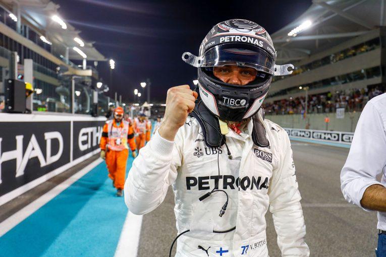 F1 | F1アブダビGP予選:僚友ハミルトンを上回りボッタスが2戦連続のポールポジションを獲得