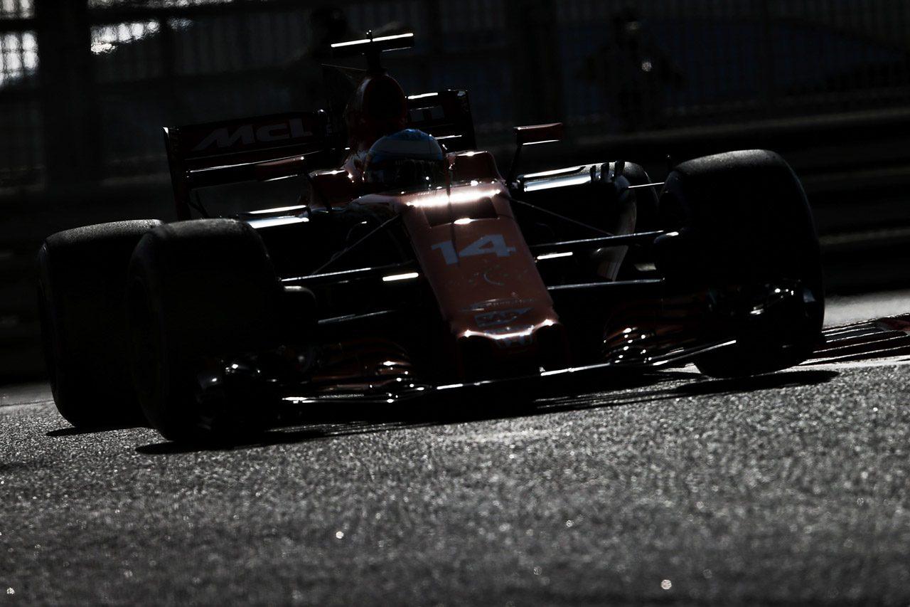 フェルナンド・アロンソ 2017年F1第20戦アブダビGP