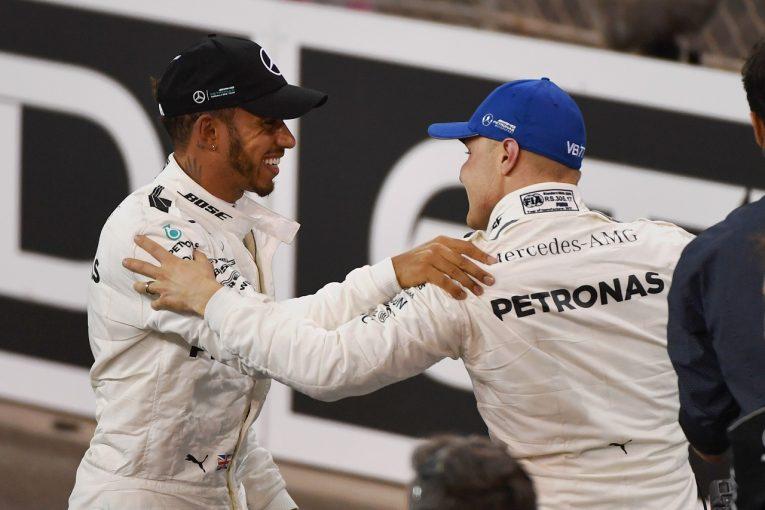 F1 | ハミルトン予選2位「セットアップ変更をやり過ぎた」:メルセデス F1アブダビGP