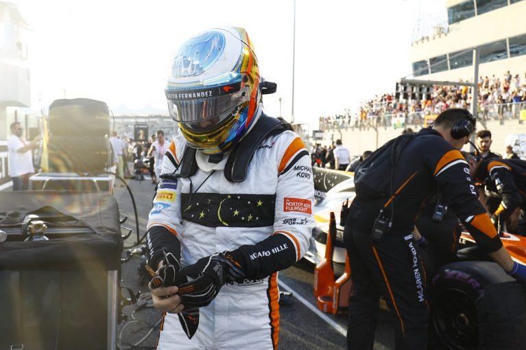 F1 | アロンソ「マクラーレン・ホンダのプロジェクトを今も誇りに思う。入賞で締めくくれて嬉しい」F1アブダビGP