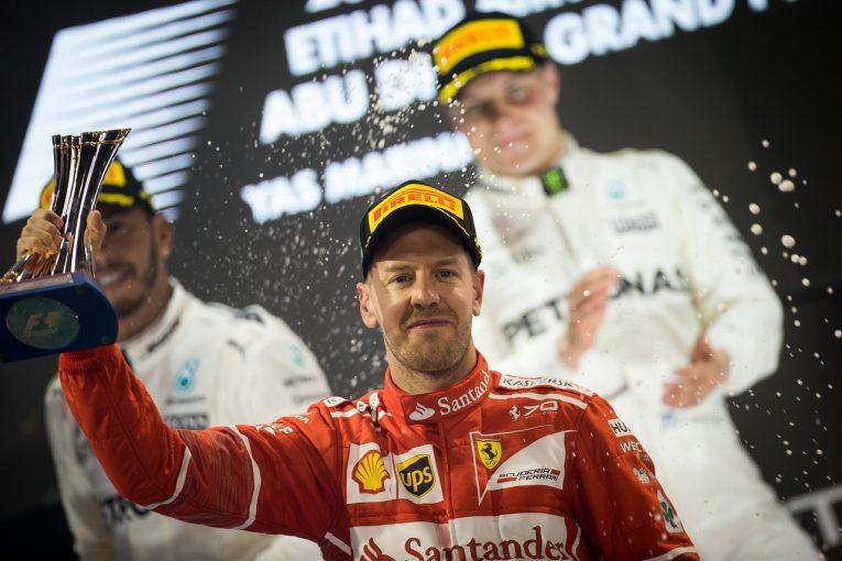 F1 | ベッテル3位「メルセデスに全くついていけなかった。2018年にまたトップを目指して戦う」フェラーリF1