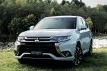 クルマ | 『ミツビシ・アウトランダーPHEV』に100V電源や先進安全装備充実の特別仕様車