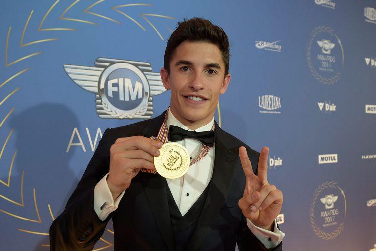 MotoGP | MotoGP:FIM表彰式に、マルケスなど2017年世界チャンピオンたちが出席