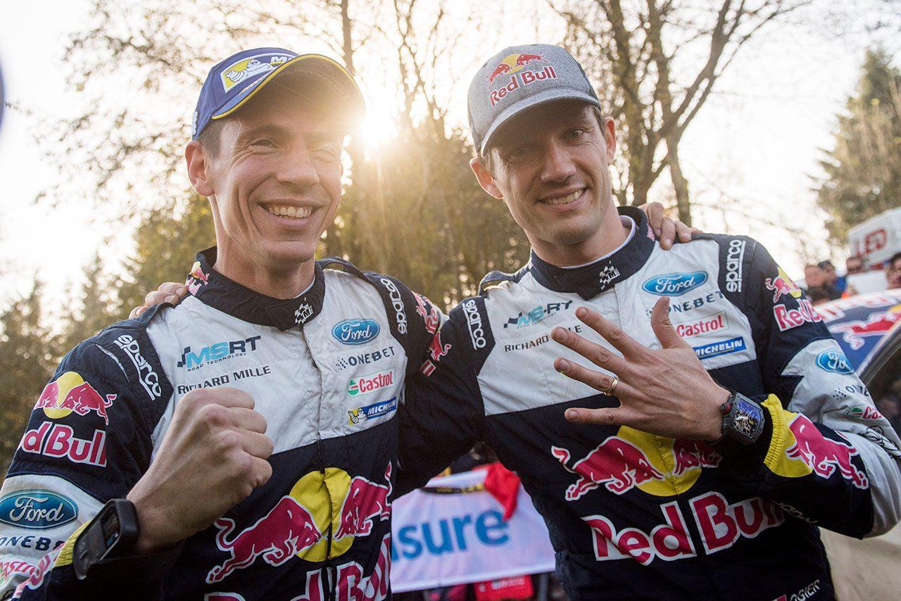WRC:Mスポーツが2018年体制を発表。王者セバスチャン・オジエと若手エバンスのコンビ