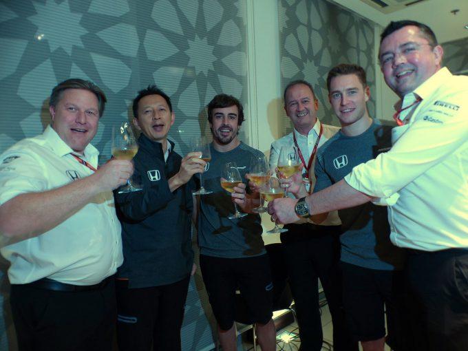 F1 | F1 Topic:3年間の歴史に幕を下ろすマクラーレン・ホンダが最後の乾杯