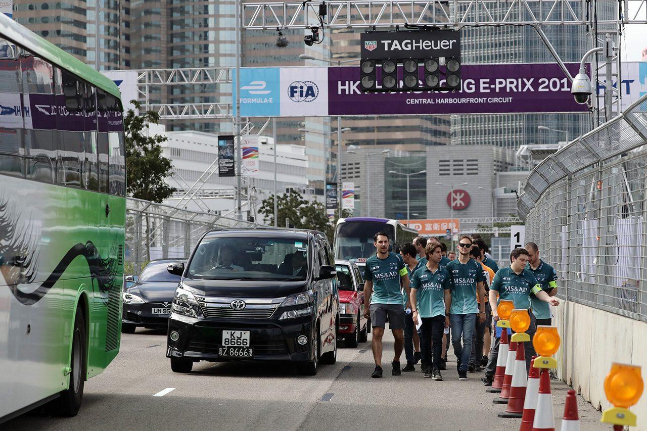 フォーミュラE香港現地ルポ2回目