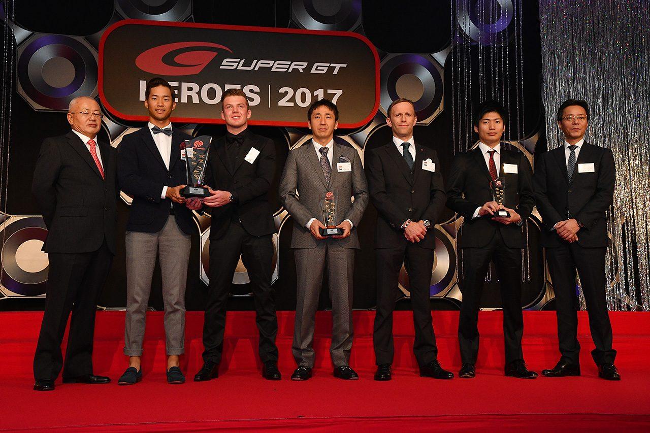 ドライバー、チームが一同に。スーパーGTシリーズ表彰式『SUPER GT HEROES』開催