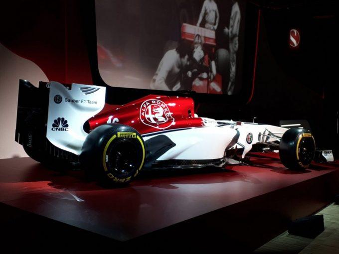 F1 | 【ギャラリー】アルファロメオ・ザウバーF1のカラーリングコンセプトがお披露目
