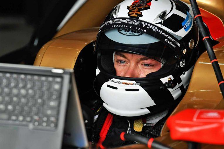 海外レース他 | フォーミュラE:厳しい洗礼受けたロッテラー、最終ラップのクラッシュは「ピケJr.が突然ストップした」