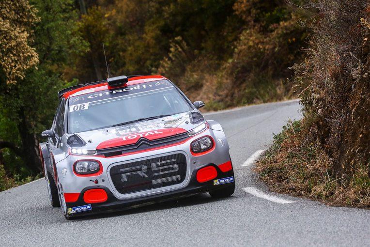 ラリー/WRC | WRC:シトロエンが開発進めるC3 R5が公の場に初登場。「開発の方向は正しい」と手応え