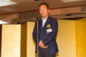 イヤーエンドパーティーに出席した関谷正徳氏