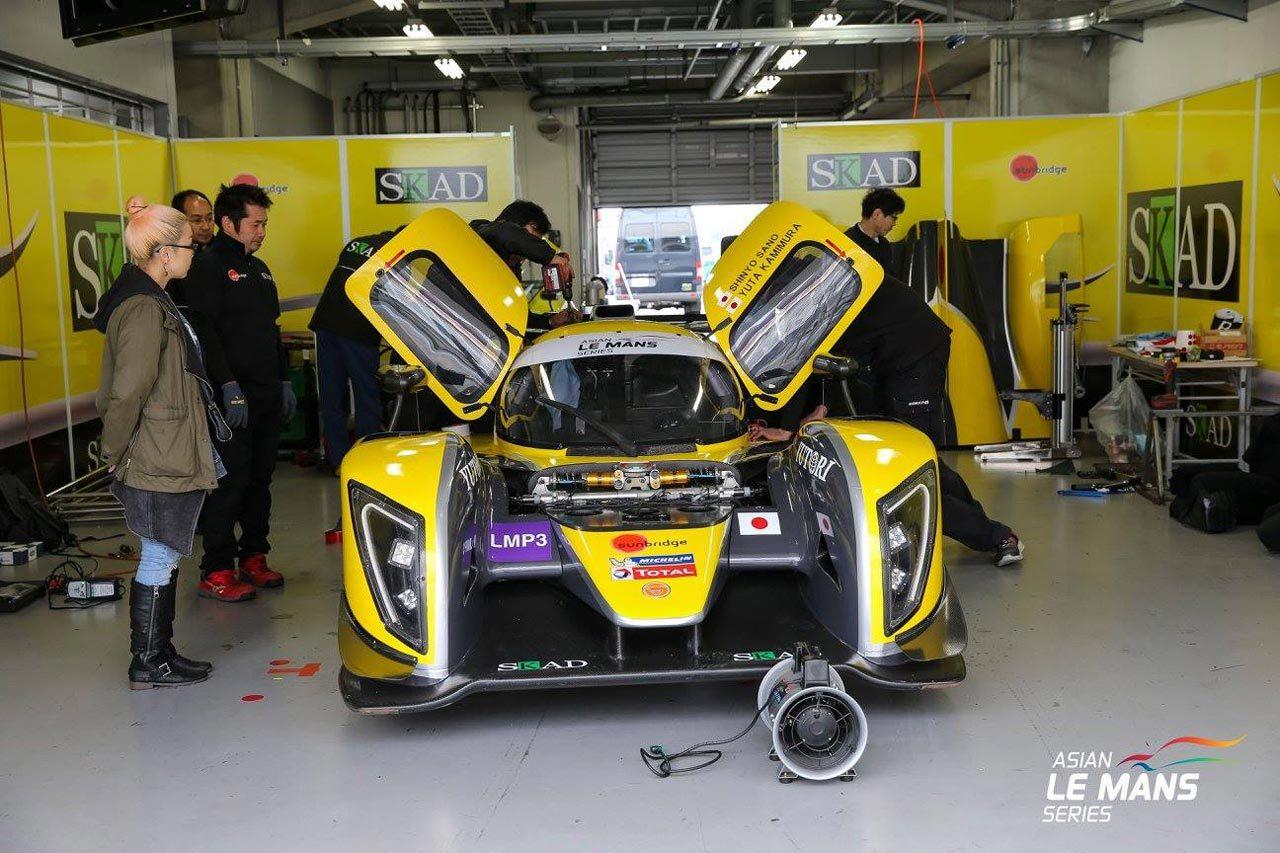 AsLMS第2戦富士:ジャッキー・チェン・DCレーシングが2クラスを制圧。LMP3で日本勢が表彰台を獲得