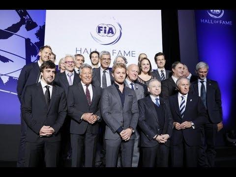 【動画】FIAホール・オブ・フェームが創設。9人の元F1チャンピオンがオープニングセレモニーに出席
