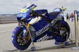 MotoGP初期にはマスがセンターに集中していた。写真は2005年のヤマハYZR-M1